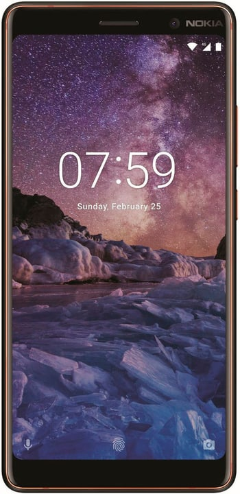 7 Plus Dual Sim  noir Smartphone Nokia 785300133248 Photo no. 1