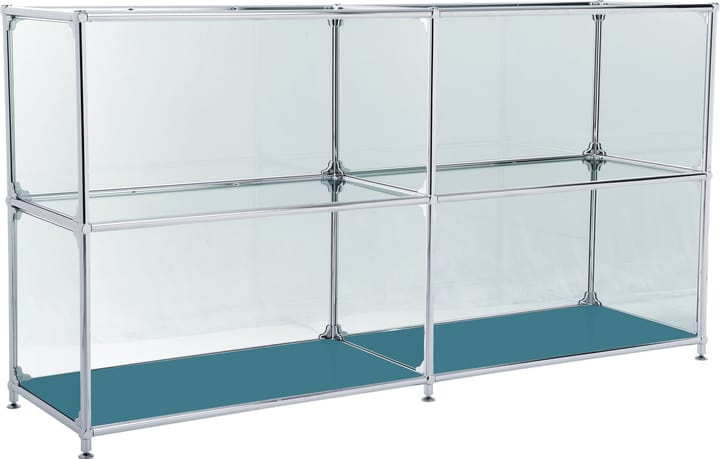 FLEXCUBE Buffet 401814220266 Dimensions L: 152.0 cm x P: 40.0 cm x H: 80.5 cm Couleur Pétrole Photo no. 1