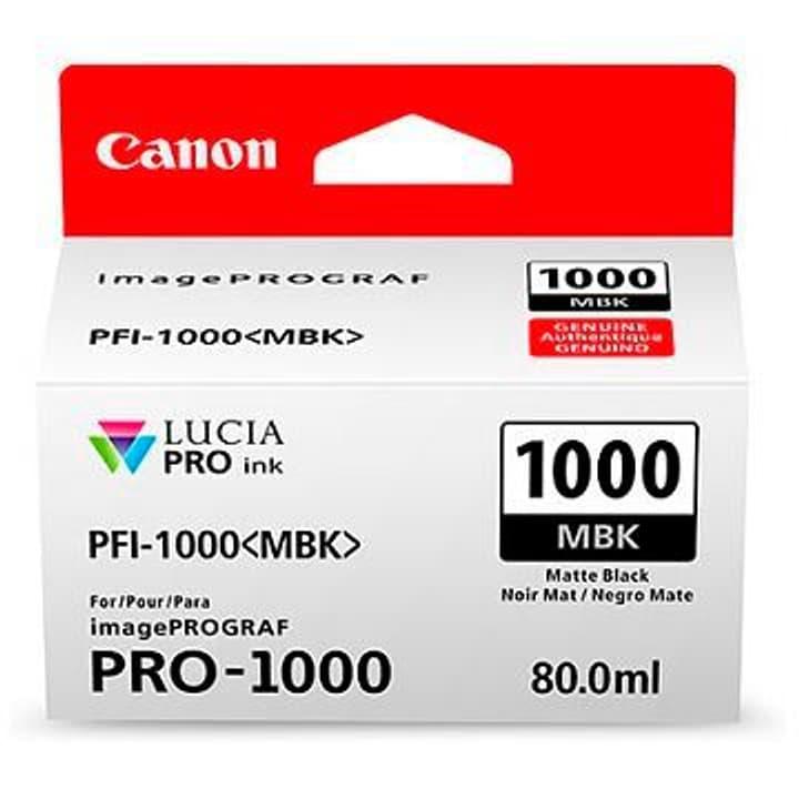 PFI-1000 negro mate Cartuccia d'inchiostro Canon 785300126462 N. figura 1