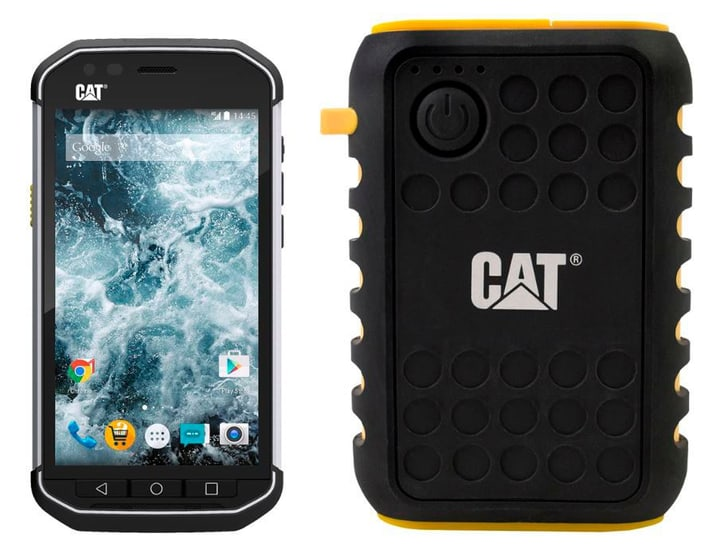 CAT S40 Bundle inkl. Powerbank 10'000 mah CAT 794615800000 Photo no. 1