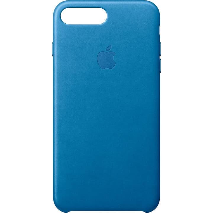 iPhone 7 Plus Coque en cuir - Bleu Méditerranée Apple 785300126857 Photo no. 1