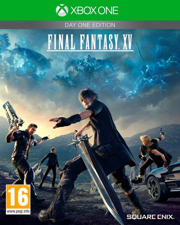 Xbox One - Final Fantasy XV Day One Edition Box 785300121130 Photo no. 1