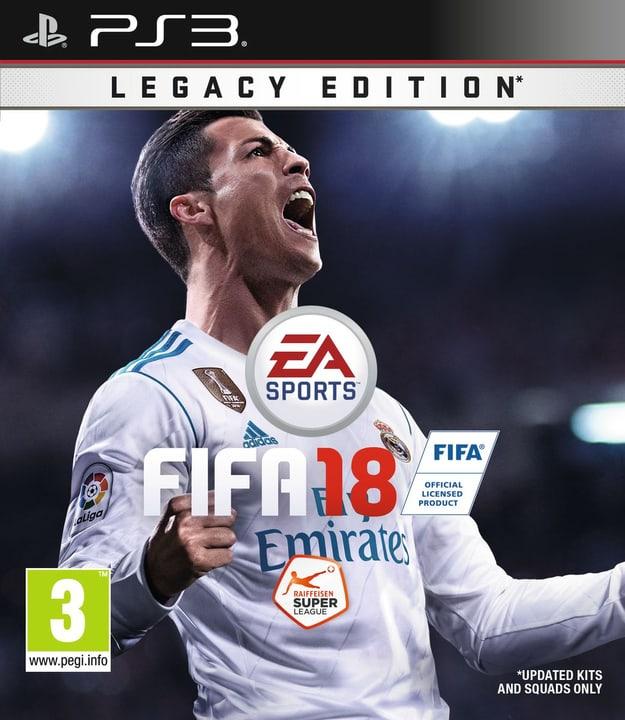 PS3 - FIFA 18 - Legacy Edition 785300122667 Photo no. 1