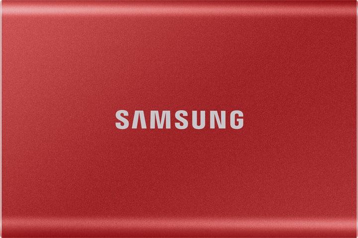 SSD T7 portable 1 TB metallic red SSD Extern Samsung 785300153279 Bild Nr. 1