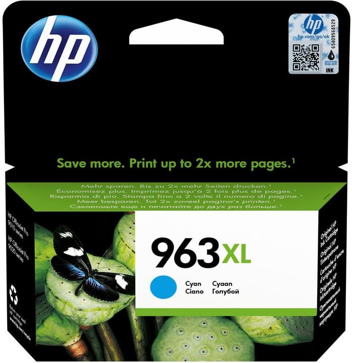HP cartouche d'encre 963XL 3JA27AE cyan Cartouche d'encre HP 798259100000 Photo no. 1