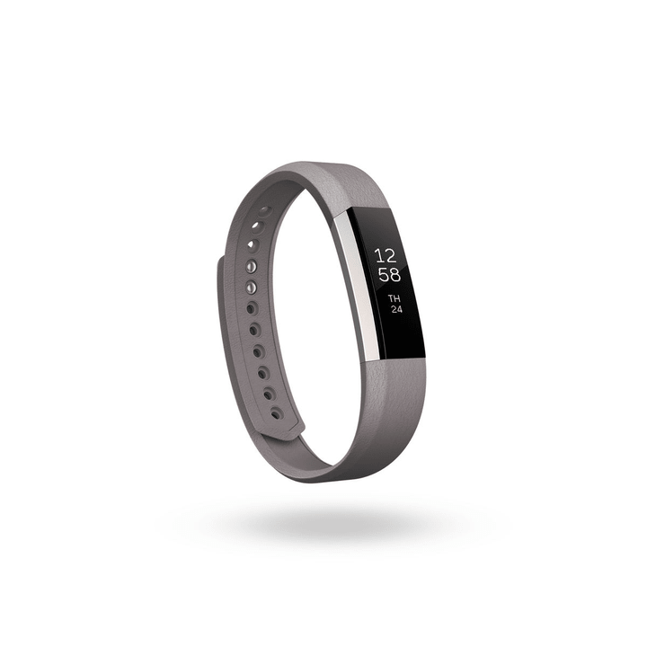 Alta bracelet en cuir gris S Fitbit 798118900000 Photo no. 1
