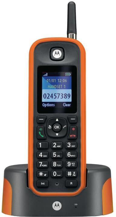 O211 schwarz orange Festnetz Telefon Motorola 785300138444 Bild Nr. 1