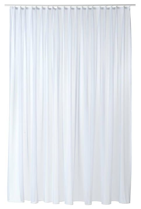 VOILE UNI Rideau prêt à poser jour 430270021810 Couleur Blanc Dimensions L: 200.0 cm x P: 235.0 cm x H:  Photo no. 1