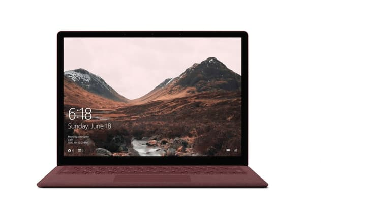Surface  i5 256GB 8GB Burgundy Ordinateur portable Microsoft 785300129974 Photo no. 1