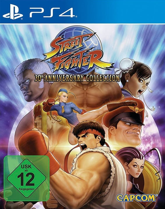 PS4 - Street Fighter 30th Anniversary Collection Physisch (Box) 785300133814 Sprache Französisch, Deutsch, Italienisch Plattform Sony PlayStation 4 Bild Nr. 1
