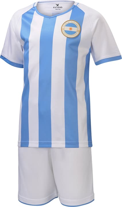 Kinder Fussball-Fan-Set Argentinien Extend 464559211141 Farbe Hellblau Grösse 110/116. Bild-Nr. 1