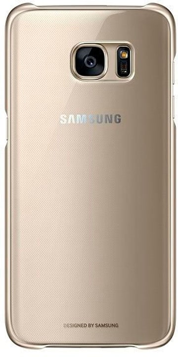 Clear Cover gold Hülle Samsung 785300125080 Bild Nr. 1