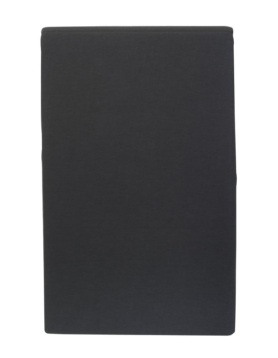 CARLOS Drap-housse en jersey 451033230383 Couleur Anthracite Dimensions L: 90.0 cm x H: 200.0 cm Photo no. 1