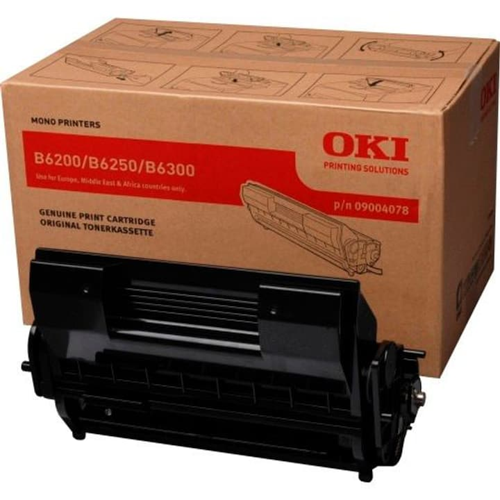 09004078 noir 11'000 pages Toner et Tambour OKI 785300124141 Photo no. 1