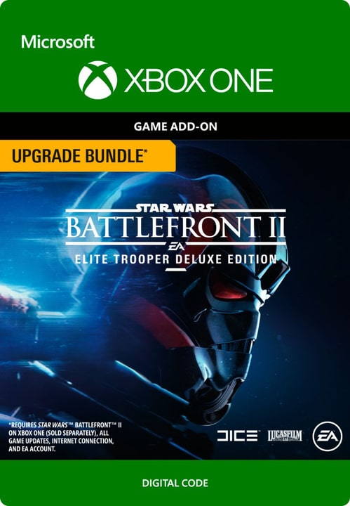 Xbox One - Star Wars Battlefront II: Elite Trooper Deluxe Edition Upgrade Digital (ESD) 785300136284 Bild Nr. 1