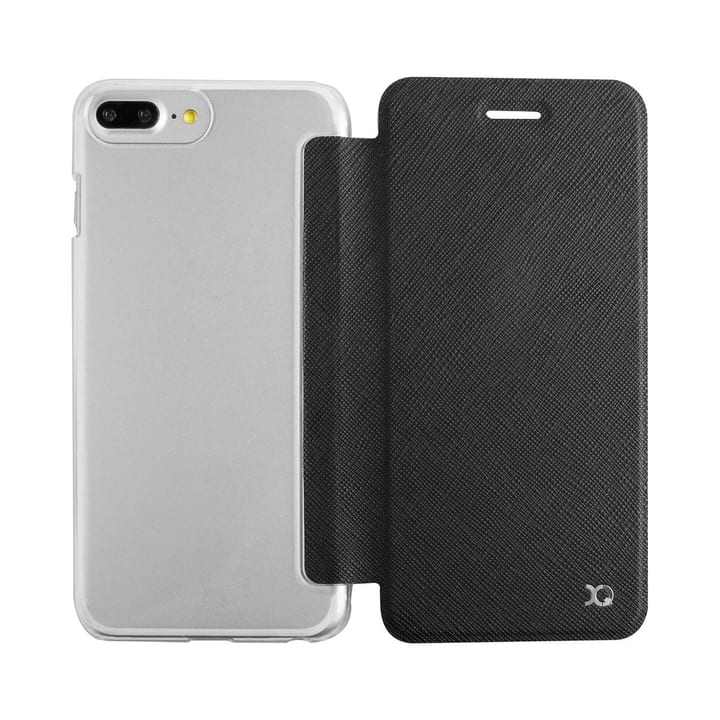 Flap Cover Adour iPhone 7/8 Plus schwarz XQISIT 798065200000 Bild Nr. 1