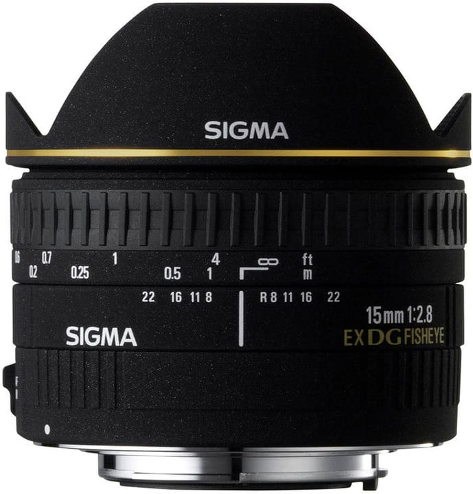 15mm/2.8 EX DG Diagonal Fisheye Nikon Obiettivo Sigma 785300134970 N. figura 1