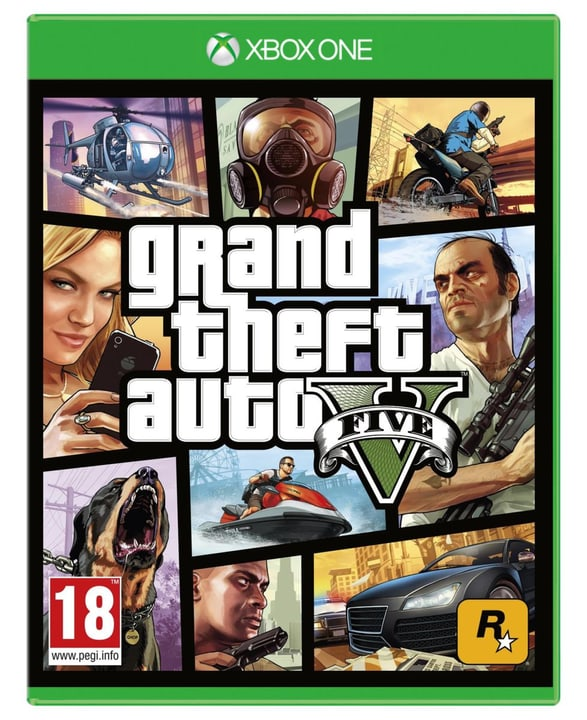 Xbox One - GTA 5 Fisico (Box) 785300118834 N. figura 1
