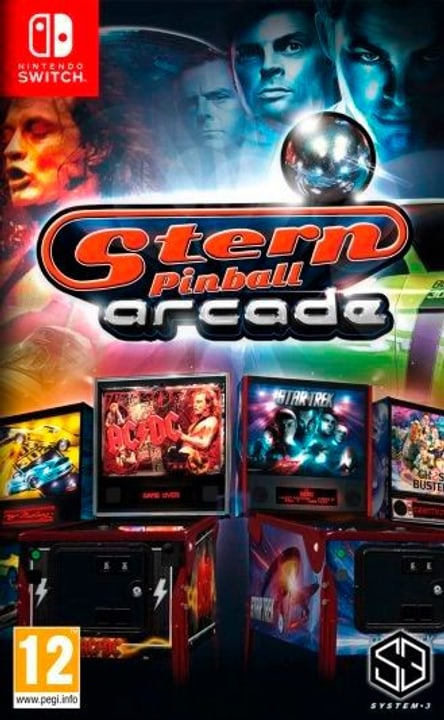 Switch - Stern Pinball Arcade (I) Box 785300131543 Bild Nr. 1
