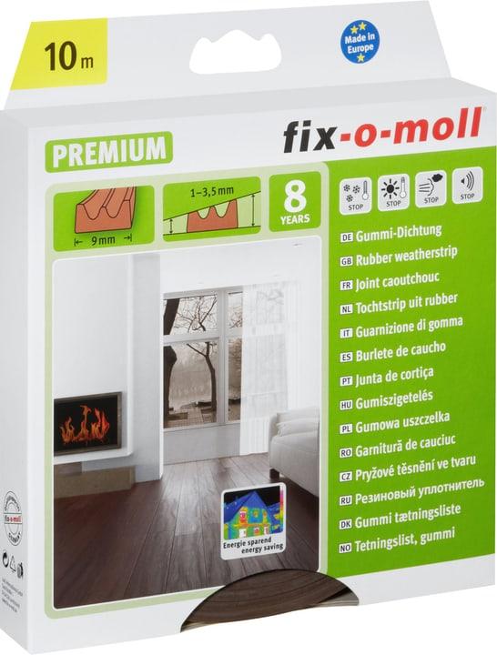 E-Profil Gummi-Dichtung 9 x 4 mm, 10 m Fix-O-Moll 673003200000 Bild Nr. 1