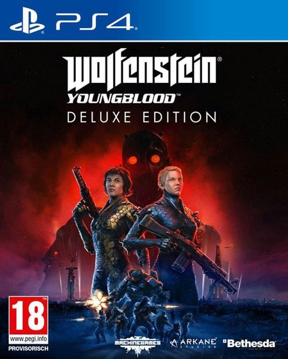 PS4 - Wolfenstein: Youngblood Deluxe Edition D Box 785300145208 Photo no. 1