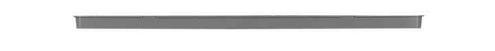 Sottovaso in materia sintetica Swisspearl Eternit 659435700000 Taglio L: 60.0 cm x L: 17.0 cm x A: 2.3 cm Colore Antracite N. figura 1