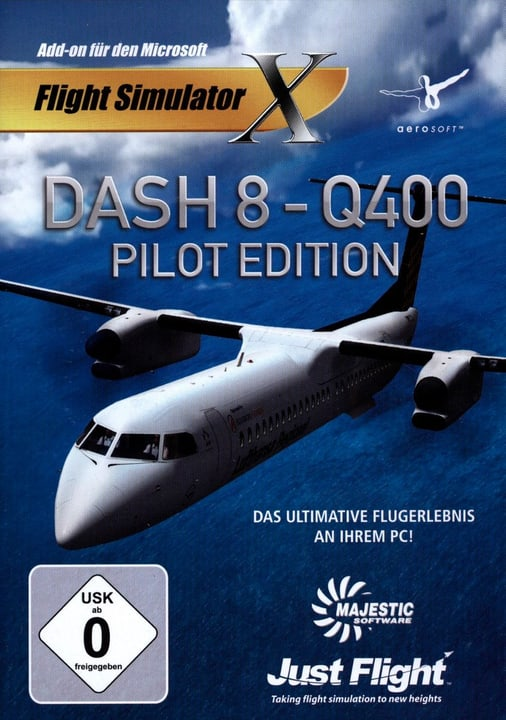 PC - Dash 8: Q400 Pilot Edition (Add-on für FSX) Physisch (Box) 785300127052 Bild Nr. 1