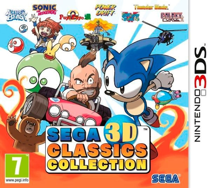 3DS - Sega 3D Classics Collection Fisico (Box) 785300121943 N. figura 1