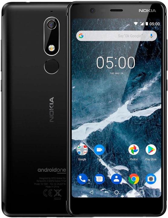 5.1 (2018) Dual SIM 32GB nero Smartphone Nokia 785300138409 N. figura 1