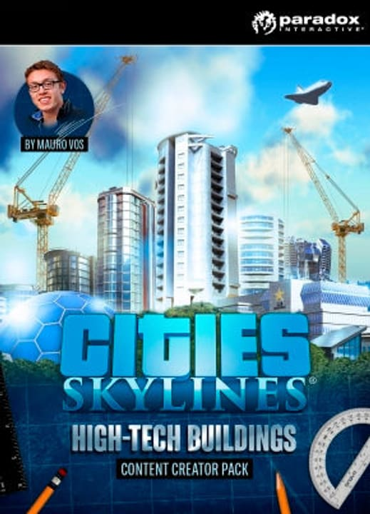 PC/Mac - Cities: Skylines - Content Creator - Hightech Buildings (D) Download (ESD) 785300134134 Photo no. 1