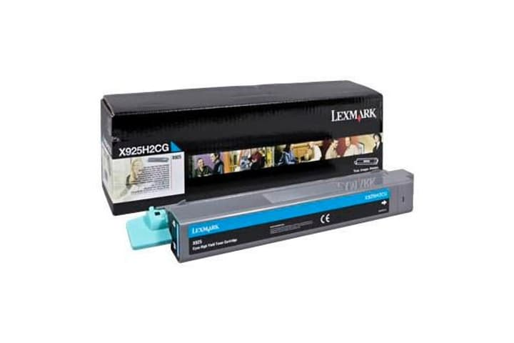 Cartouche toner X925H2CG cyan Lexmark 785300126683 Photo no. 1