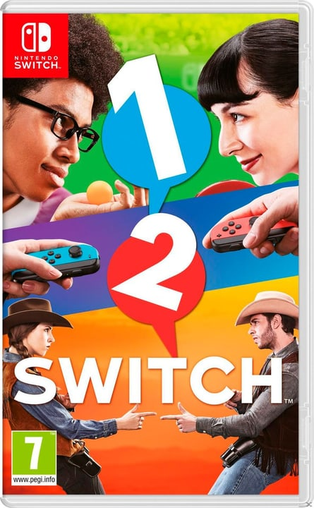 Switch - 1-2-Switch Box Nintendo 785300121679 Langue Allemand Plate-forme Nintendo Switch Photo no. 1