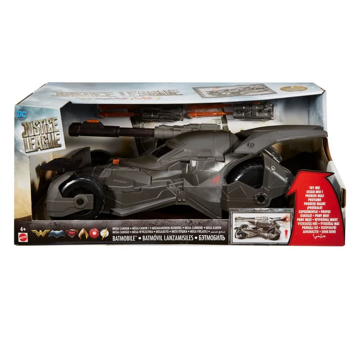 DC Justice League Movie Batmobil (15 cm) 746221800000 Photo no. 1