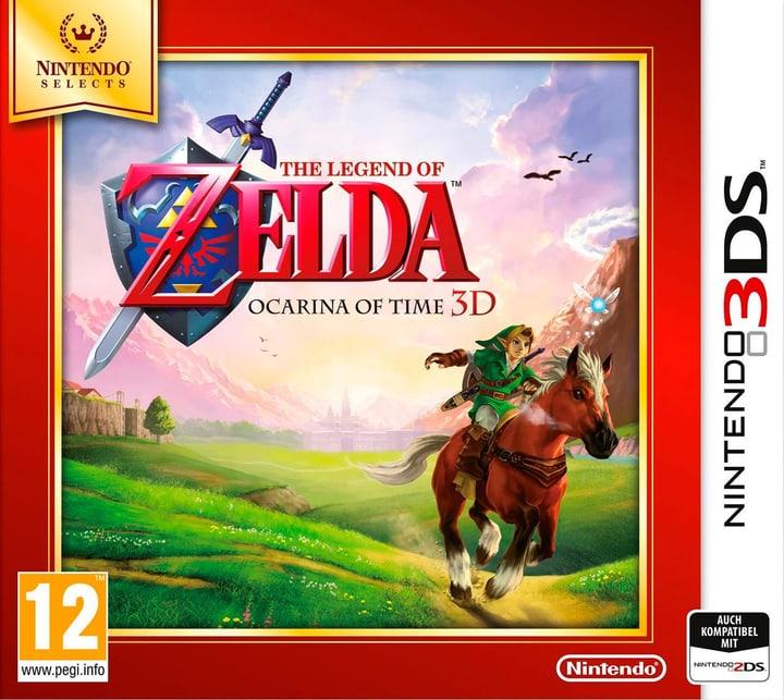 3DS - The Legend of Zelda: Ocarina of Time 3D Selects Box 785300121138 Photo no. 1