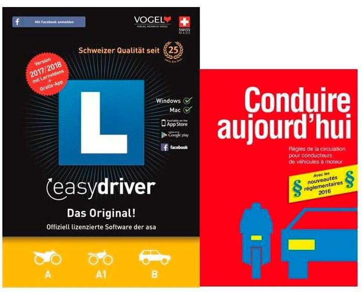 PC/Mac - easydriver 2017/18 (D/F/I/E) avec livre de théorie français 785300122658 Photo no. 1