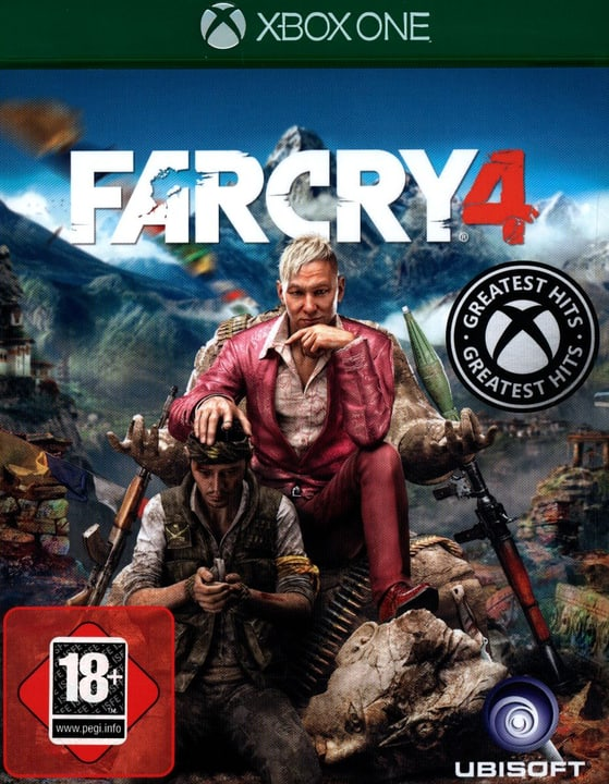 Xbox One - Far Cry 4 Box 785300121853 N. figura 1