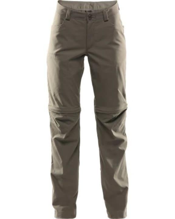 Zip-Off Pantalon pour femme Haglöfs 462781303677 Couleur bourbe Taille 36 Photo no. 1