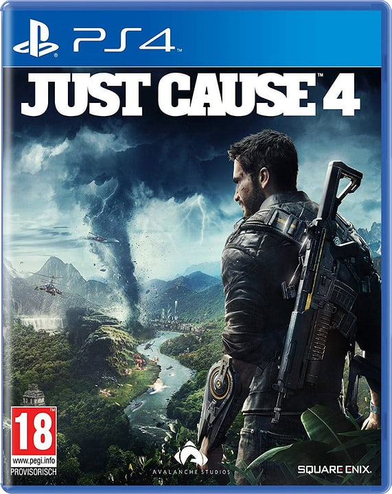 PS4 - Just Cause 4 (D) Box 785300137778 Langue Allemand Plate-forme Sony PlayStation 4 Photo no. 1