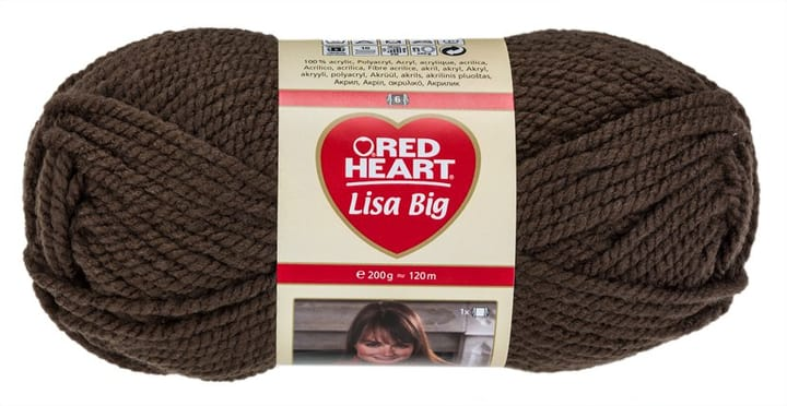 Wolle Lisa Big Red Heart 665512900000 Farbe Taupe Bild Nr. 1