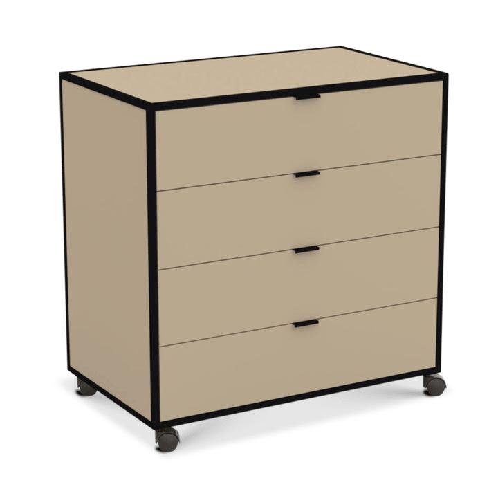 SEVEN Cassettiera 364185100070 Dimensioni L: 86.0 cm x P: 52.0 cm x A: 87.0 cm Colore Marrone N. figura 1