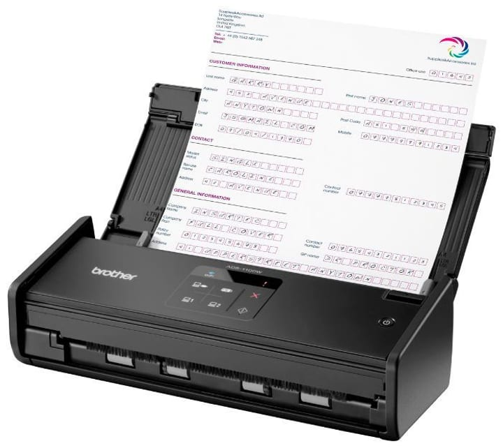 ADS-1100W Scanner nero Brother 785300124027