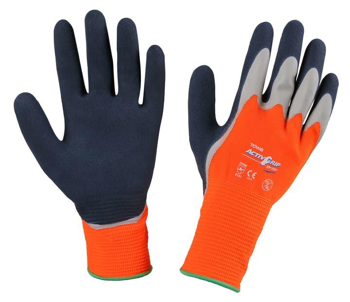 Handschuh ActivGrip XA325 Gr.9 orange, doppelt Latex getaucht 631283400000 Bild Nr. 1