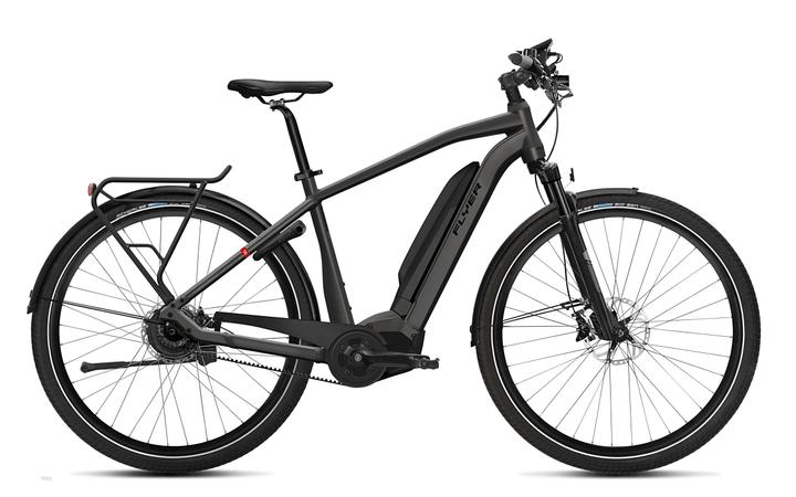 "Upstreet5 7.10 28"" E-Trekkingbike FLYER 463350400486 Farbe anthrazit Rahmengrösse M Bild Nr. 1"
