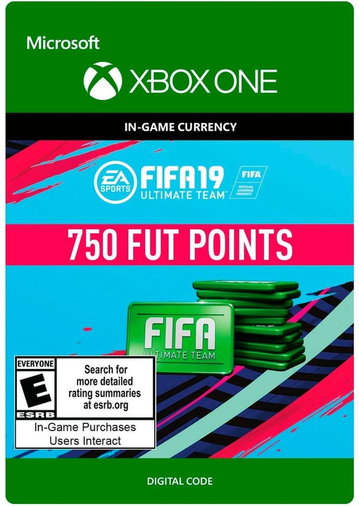 Xbox One - FIFA 19 Ultimate Team  750 points Download (ESD) 785300141836 N. figura 1