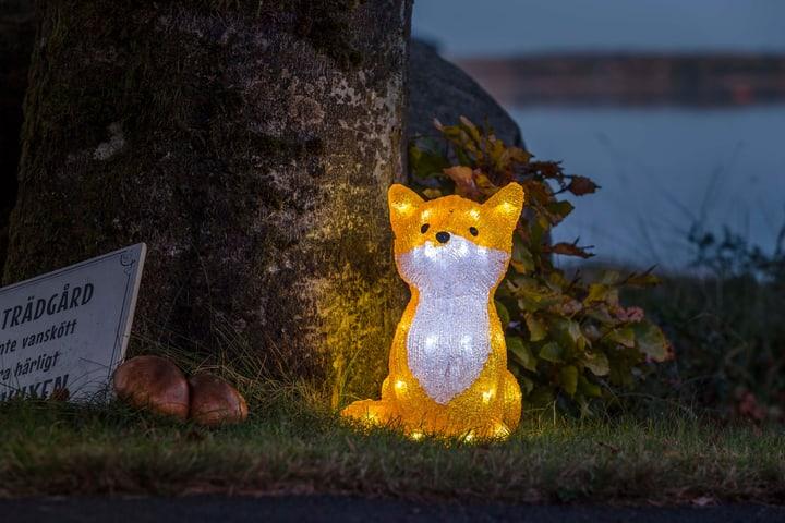 Renard acrylique à LED 27cm Konstsmide 613201000000 Photo no. 1