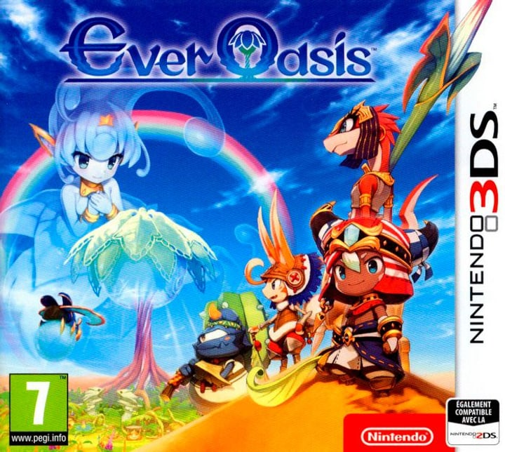 3DS - Ever Oasis (F) 785300122397 Photo no. 1