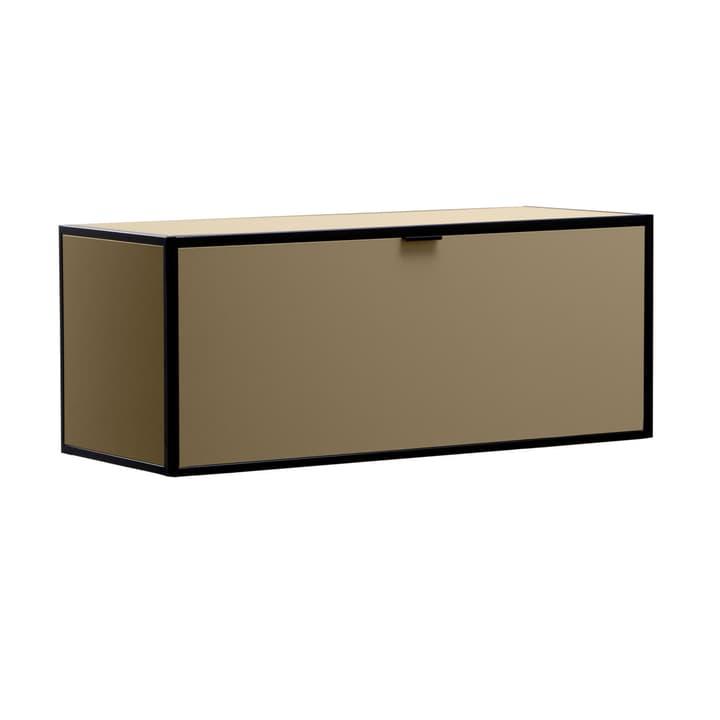 SEVEN Rabat d'étagère avec couvercle Edition Interio 360984500000 Dimensions L: 90.0 cm x P: 38.0 cm x H: 35.0 cm Couleur Brun Photo no. 1