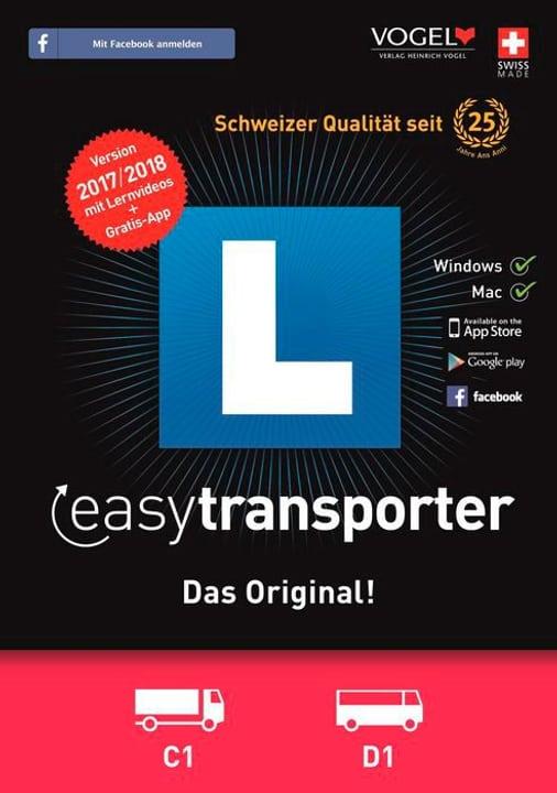 PC/Mac - easytransporter 2017/18 Theorieprüfung [Kat. C1/D1] (D/F/I) 785300122661 Photo no. 1