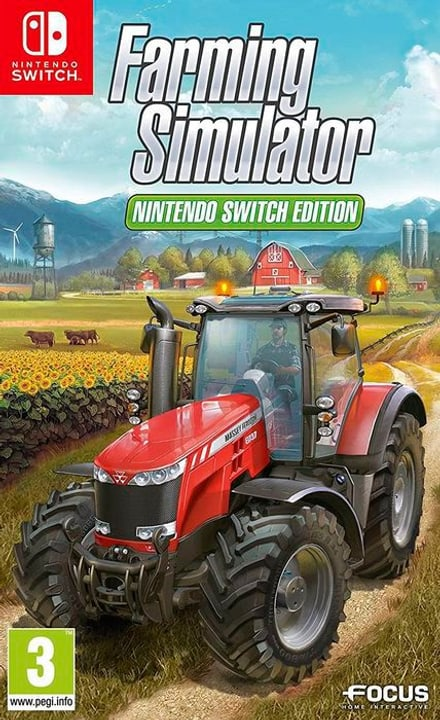 NSW - Farming Simulator F Physique (Box) 785300130444 Photo no. 1
