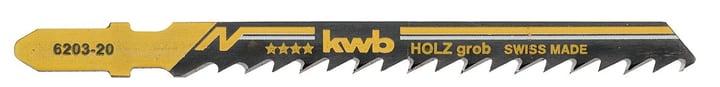 Lame per seghetto alternativo / Sabre Saw grossolano 100 mm 5 pz. kwb 610512500000 N. figura 1